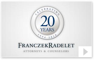 Franczek Radelet's Anniversary