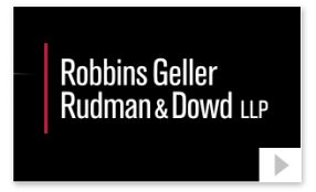 robbins geller LLP Corporate Announcement thumbnail